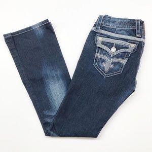 Rock Revival dark wash Maggie bootcut jeans